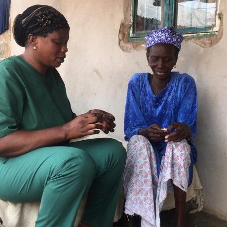Sarjo en diabetic patient in Kafuta 1