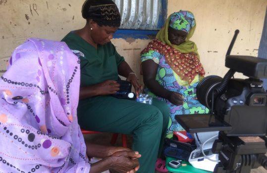 Sarjo en diabetic patient in Kafuta 5
