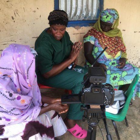 Sarjo en diabetic patient in Kafuta 6